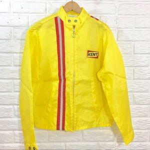 Vintage ❌ dead-stock Med racing jacket KENT